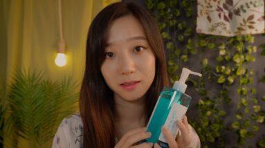 ASMR Makeup Removing Service✨ After Summer Festival