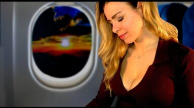 ASMR ON A PLANE [Cinematic]