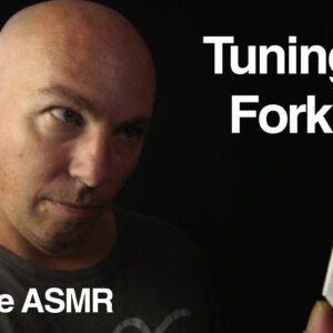 ASMR Tuning Fork Roleplay - i think.....