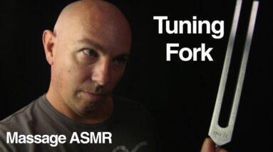 ASMR Tuning Fork Roleplay - i think.....