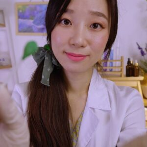 Relaxing Q-tip Clinic💚 ASMR