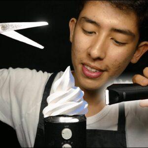 Professional ASMR Haircut ✂� (sleep inducing)