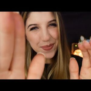 ASMR Personal Attention You Deserve :) Plucking, Poking, Petting, Patting ♥