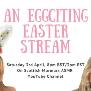 ASMR EGGCITING EASTER STREAM ft Creative Calm ASMR