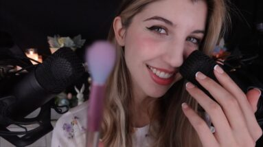 ASMR Sensitive Whispers & Tracing (Sincere Affirmations) 💐