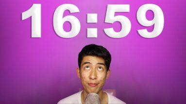 at exactly 16:59, you will fall asleep (ASMR)