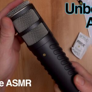 Unboxing ASMR - Rode Procaster Microphone