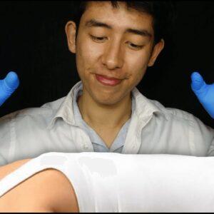 ASMR Professional Chiropractor 🦴(sleep inducing)