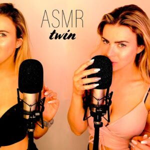 ASMR TWIN MOUTH SOUNDS HEAVEN (can your ears handle this?)