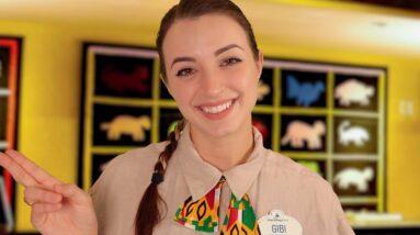 ASMR | Disney World Resort Check-in | Animal Kingdom Lodge
