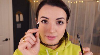 ASMR | In-Depth, Gentle Eyebrow Shaping, Tweezing, Makeup [One Hour]