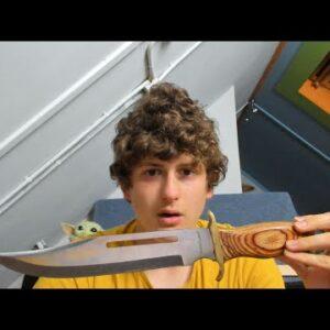 ASMR My KNIFE Collection! *insane*