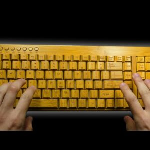 ASMR, typing on keyboards that sound utterly heavenly (no talking)