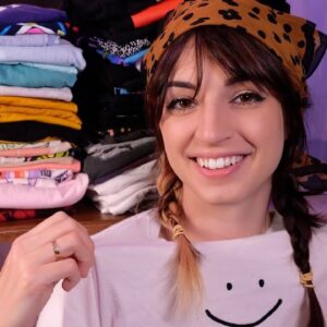 ASMR | Showing You My Irrationally Large T-Shirt Collection | Part 1