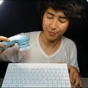 Professional ASMR Keyboard Cleaning (for sleep)