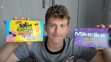 ASMR Eating American Candy 🍭