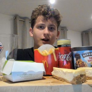ASMR Eating Mcdonald's *Mcplant, Cheesecake, Fries And Coke*