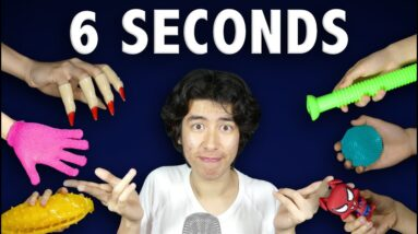 ASMR for people who have SHORT ATTENTION span (6 seconds)