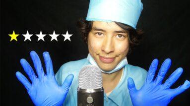 [ASMR] worst reviewed nurse unplugs your life support.